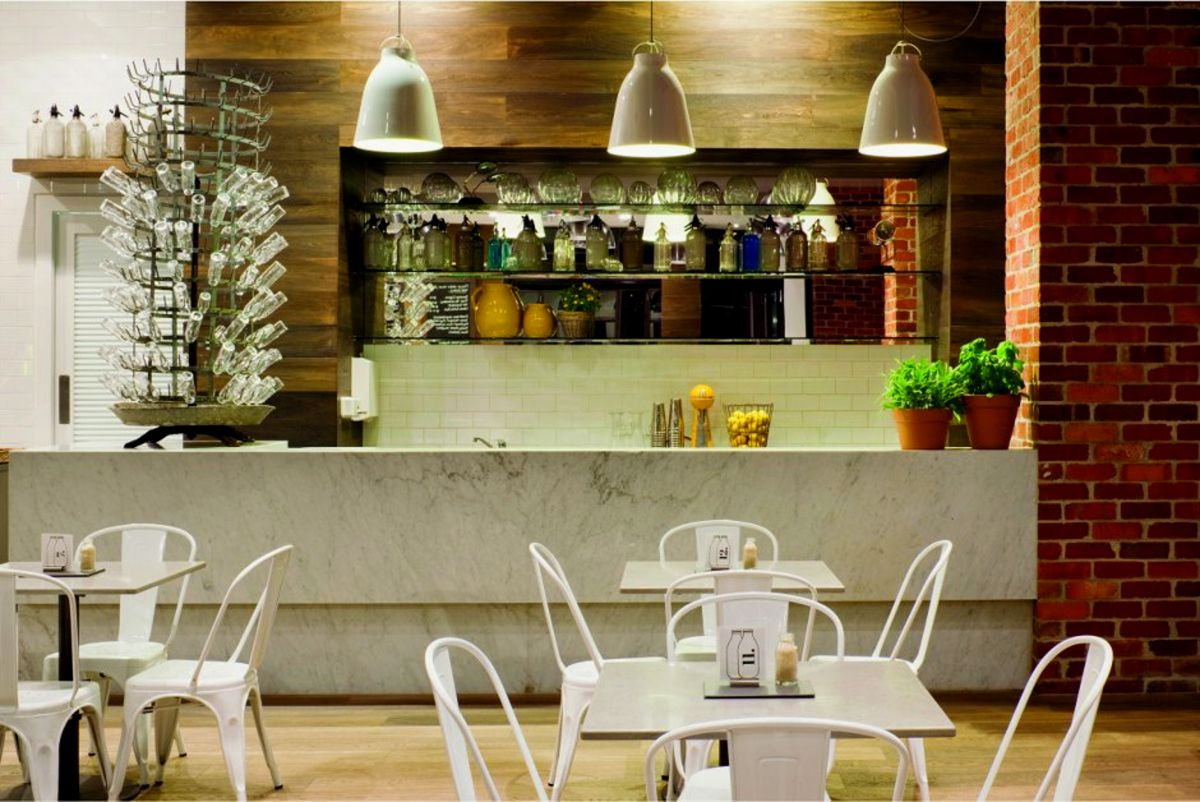 simple cafe decoration | modern house decorating design ideas