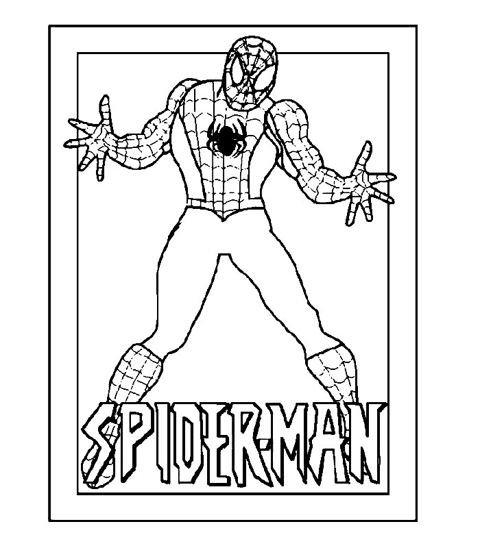 Coloring Pages Crafts Spiderman Coloring Superhero Coloring Pages Superhero Coloring