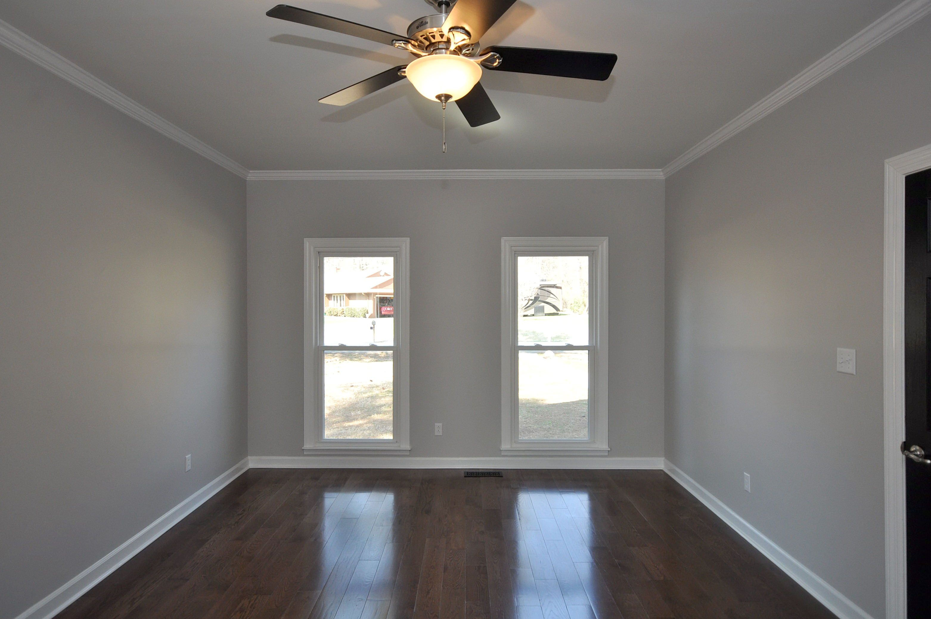 Filtered shade valspar entry hallway and landing - Shades of grey paint for bedroom ...