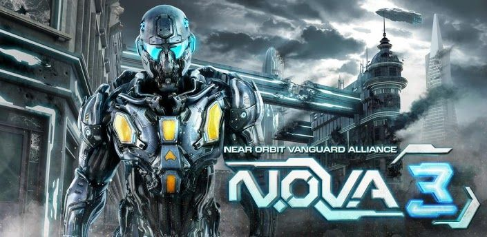 N O V A  3 - Near Orbit Vanguard Alliance MOD APK+DATA