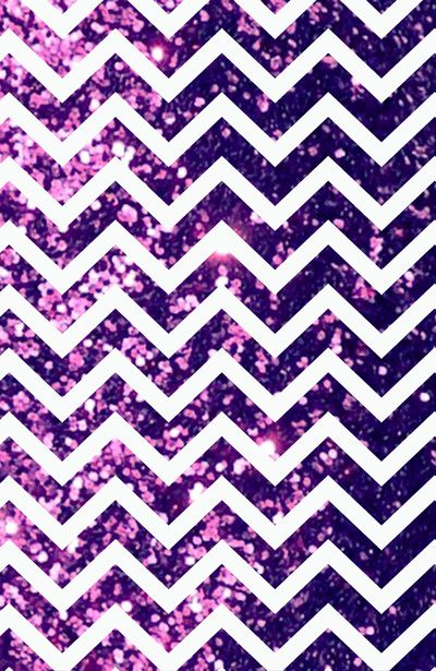 Purple Blur Sparkle Chevron Art Print By RexLambo