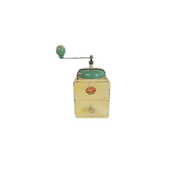 Antique Leinbrock's Ideal Yellow and Green Wooden