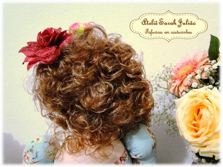 Ateliê Sarah Julião: Boneca Tilyta romântica