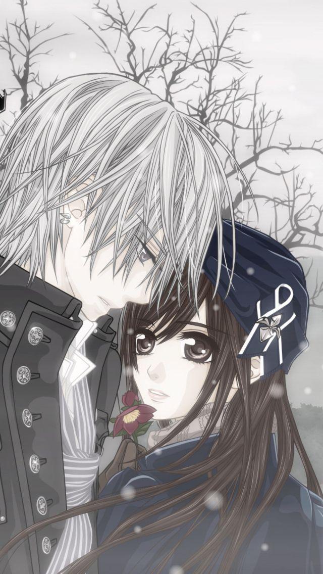 Tap And Get The Free App Art Creative Anime Asia Cartoon Couple Love Hd Iphone Wallpaper Vampire Knight Yuki Vampire Knight Manga Vampire Knight Kaname