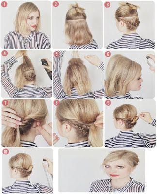 Belle Coiffure Cheveux Mi Long Boucle Facile Et Rapide Coiffures Simples Cheveux Courts Coiffure Cheveux Mi Long