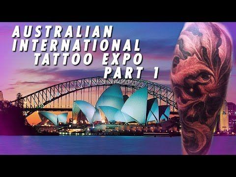 Tattoo & Ink: Tattoo Convention Coverage - Australian Tattoo Exp...
