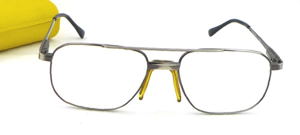Vintage Modern Kevin A Silver Eyeglass Frame Bronze 54-18-140 | eBay ...