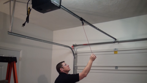 The Power Is Out How To Open Your Garage Door Manually Garage Doors Dark House Garage Door Opener