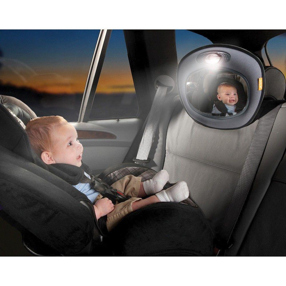 Brica Night Light Musical Baby In Sight Mirror Kids
