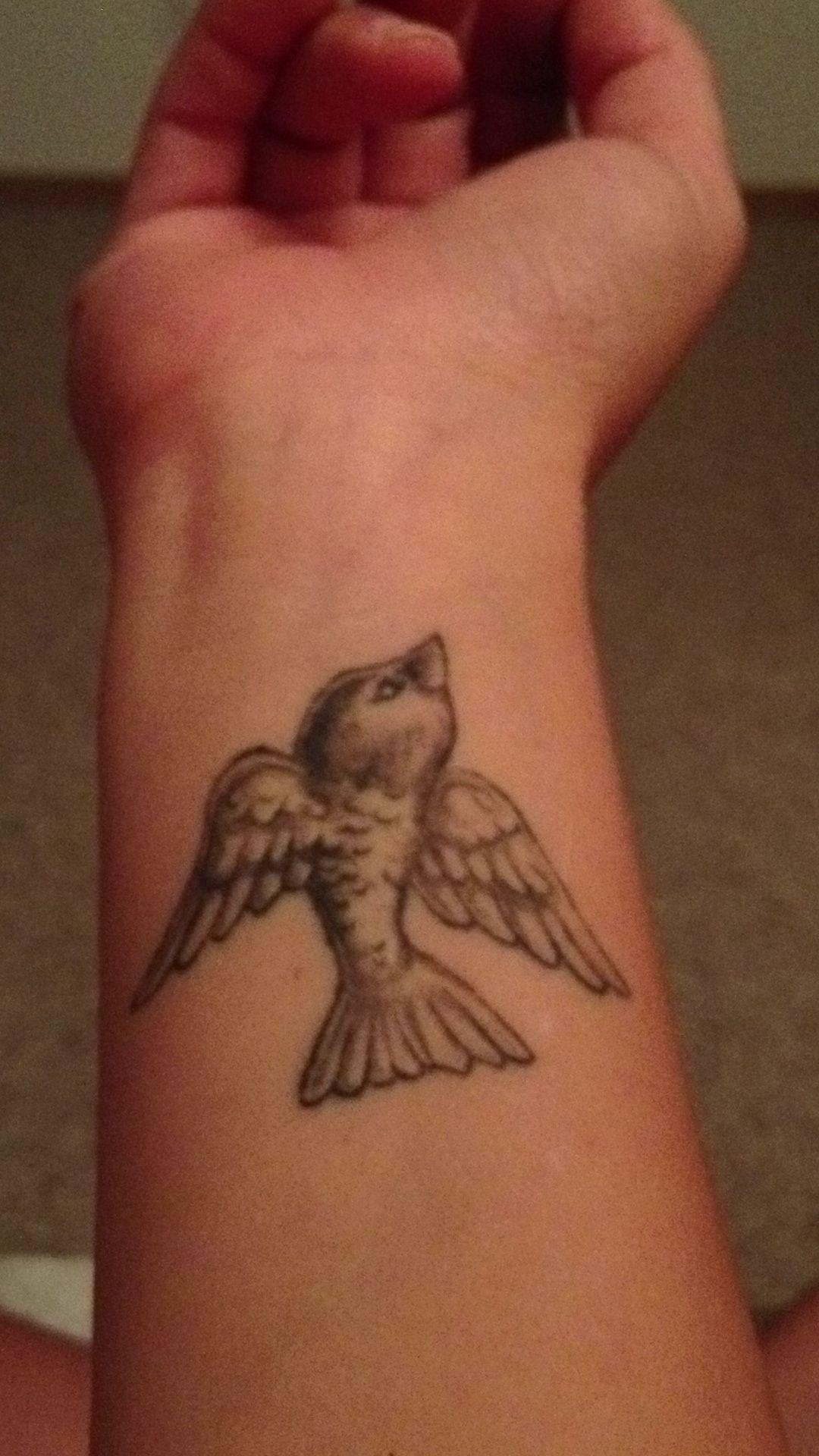 Tattoo Small Birds: Small Bird Wrist Tattoo