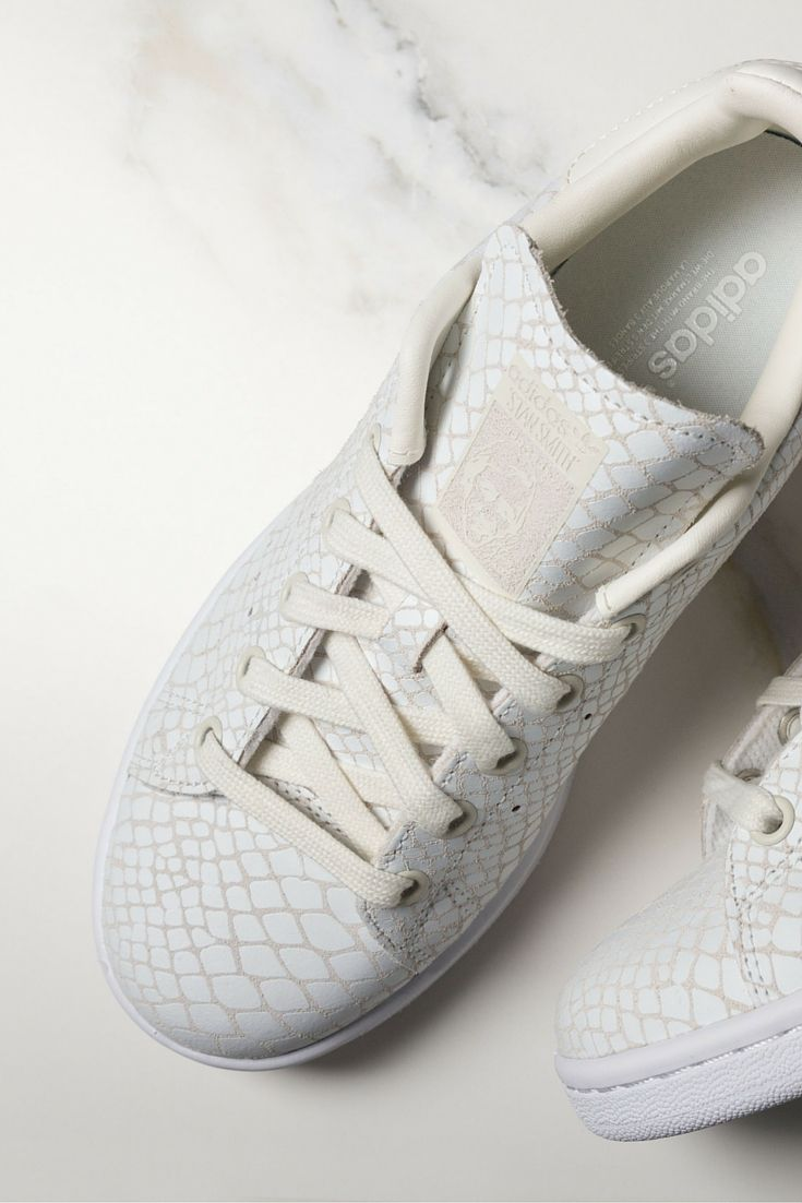 These white womens snakeskin Superstar trainers are on point. Check out all  the latest Superstar styles from now!