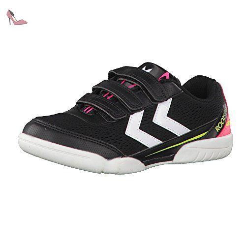 Chaussures de Fitness Mixte Enfant hummel Root Velcro