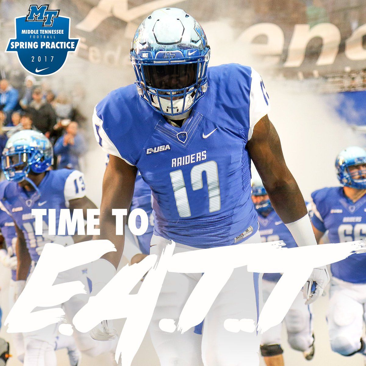 Middle Tennessee College football recruiting, Football
