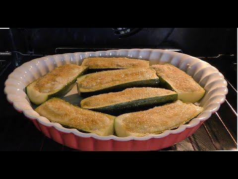 Zucchine Ripiene Alla Ligure Semplicemente Buonissime Baked Stuffed Zucchini Youtube Zucchine Ripiene Ricette Cibo