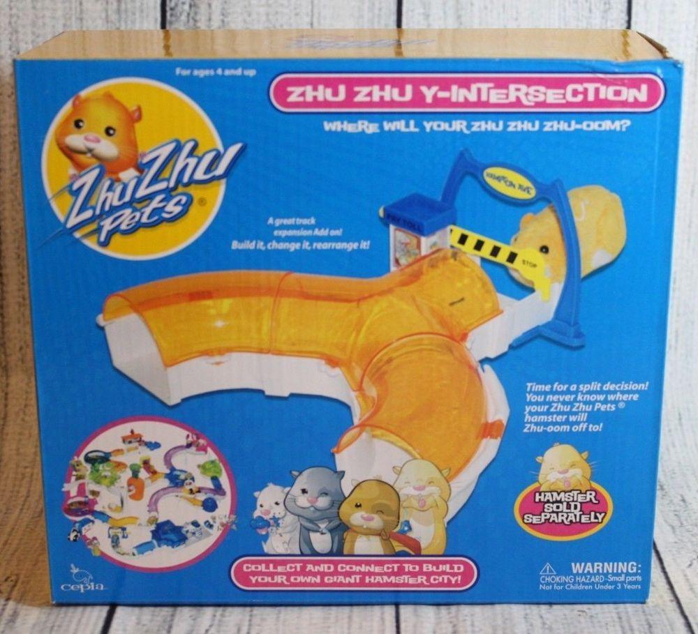 Zhu Zhu Pets Zhu Zhu Y Intersection Hamster Kids Toy Add On Set