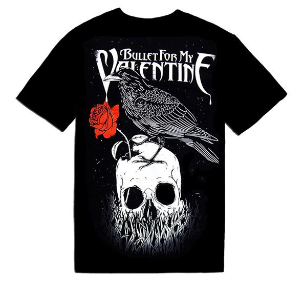 Bullet For My Valentine T Shirt   #Valentinesday #Valentines