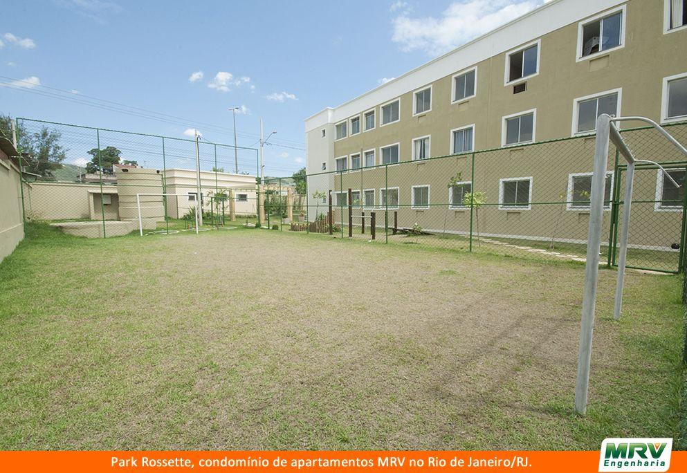 Paisagismo do Rossette. Condomínio fechado de apartamentos localizado em Rio de Janeiro / RJ.