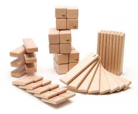 52 Piece Tegu Original Magnetic Wooden Block Set, Natural ($140.99)