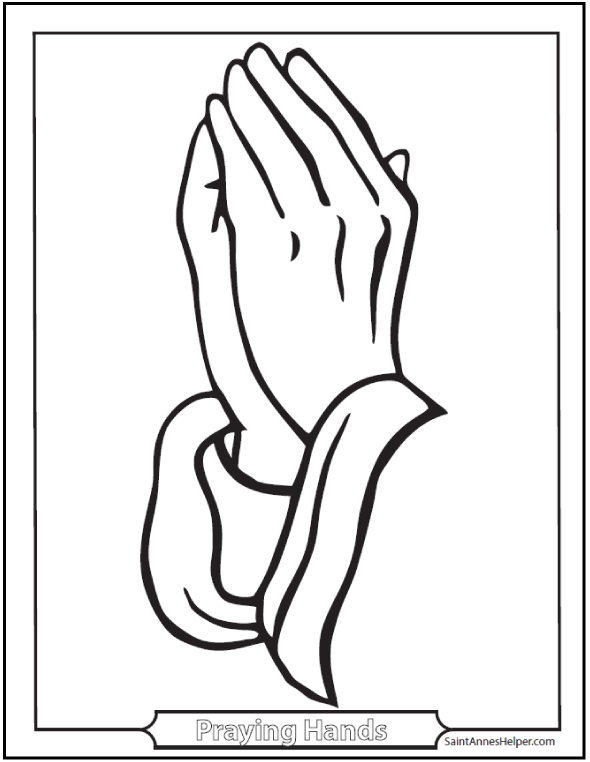 graphic about Printable Praying Hands named Catholic Prayers Are Straightforward Towards Find out - Prayers, Movies
