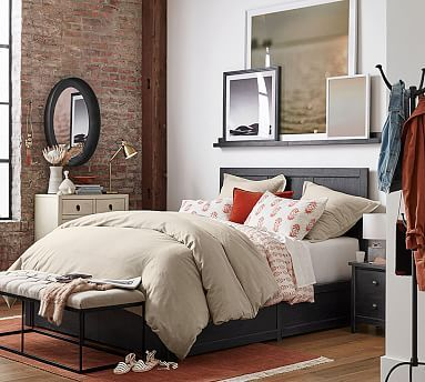 Tacoma Storage Platform Bed | Small spaces, Small bedroom ...