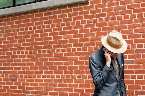 Liam Goslett Shoots New York Fashion Week, Wall