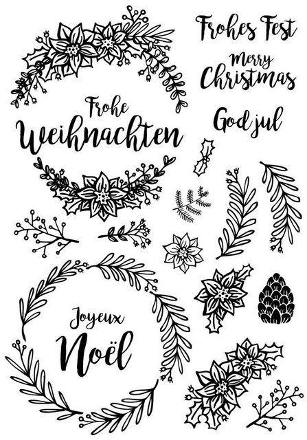 VBS Silikonstempel Frohe Weihnachten 19 Motive | OTTO