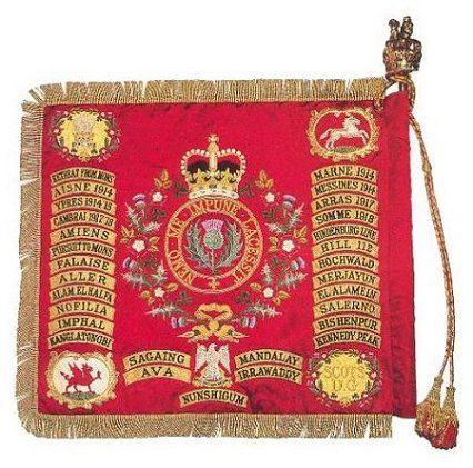 2nd Dragoons Royal scots greys guidon.