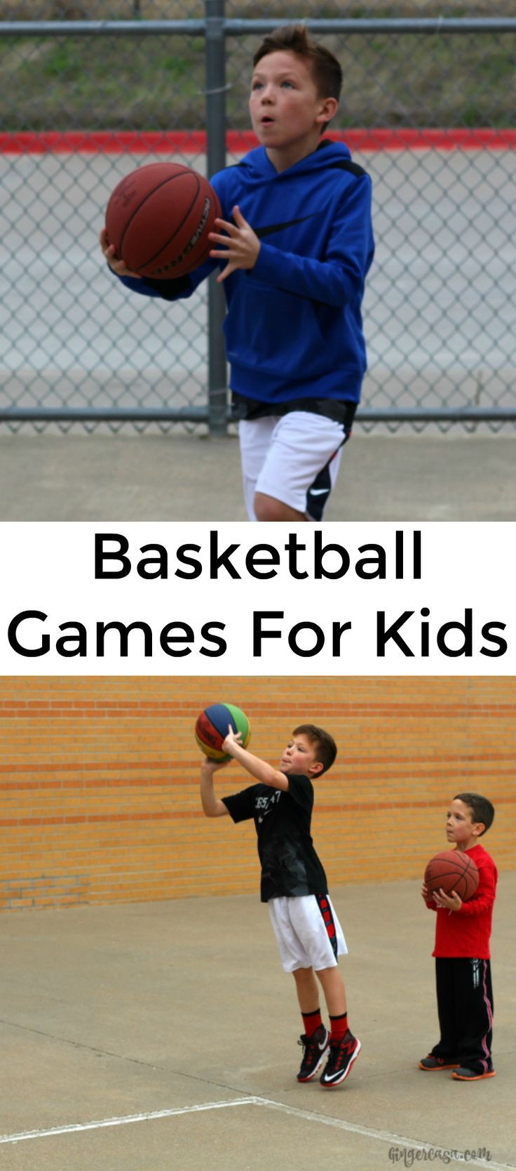 Have Fun With The Family And Practice Basketball Skills At The Same Time With These Basketball Basketball Games For Kids Basketball Skills Fun Basketball Games