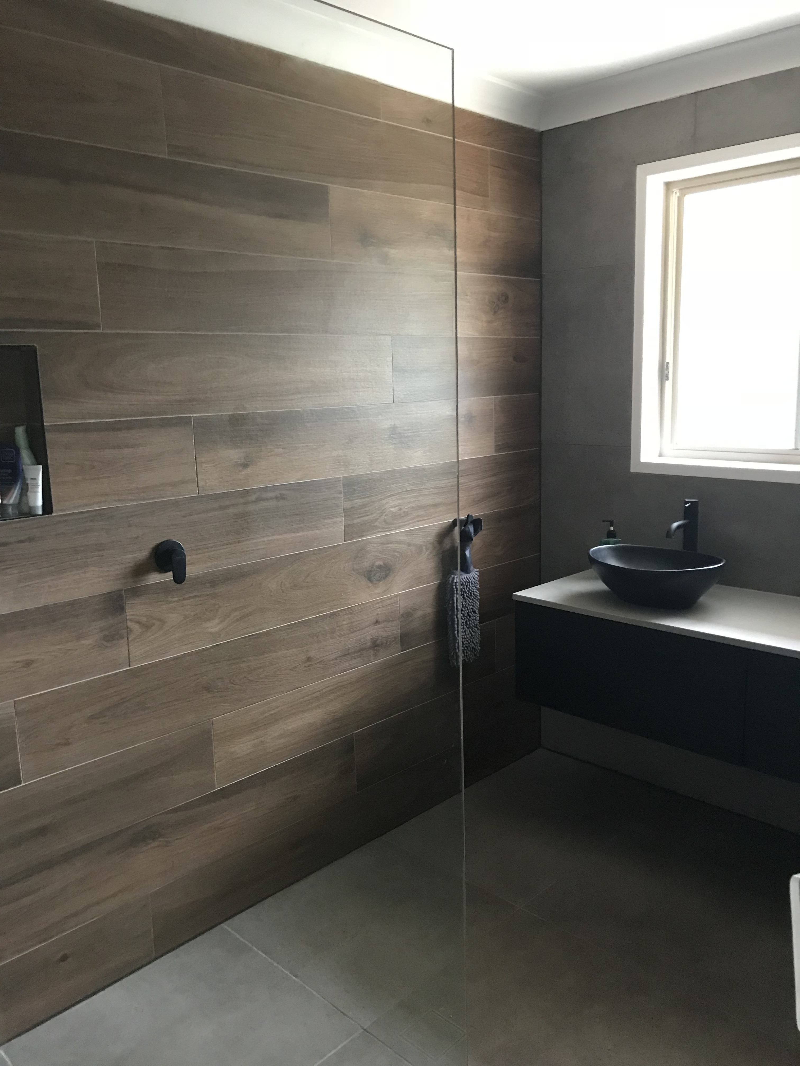 A Perfect Example Of A Modern Industrial Design Bathroom With