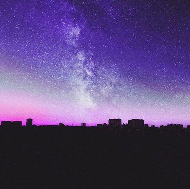 purple galaxy aesthetic - 640×634