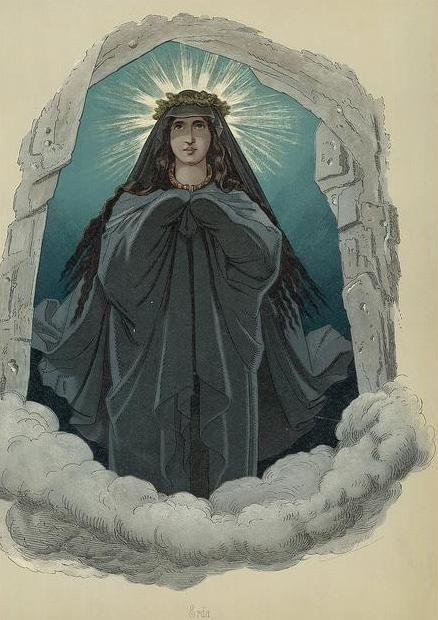 Erda http://www.germanicmythology.com/works/IMAGES4/Doepler17Erda.jpg