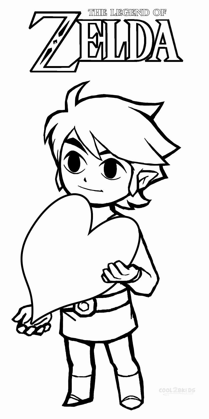 21 Legend Of Zelda Coloring Book Em 2020 Desenhos Colorir Zelda