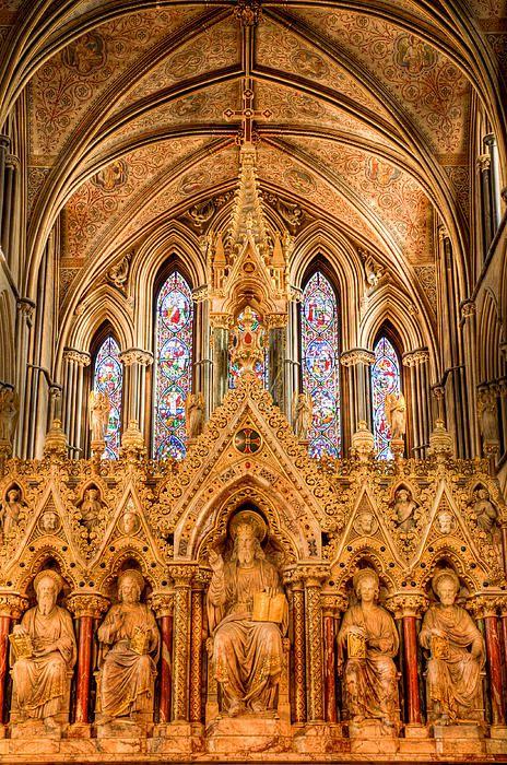Inside Worcester Cathedral