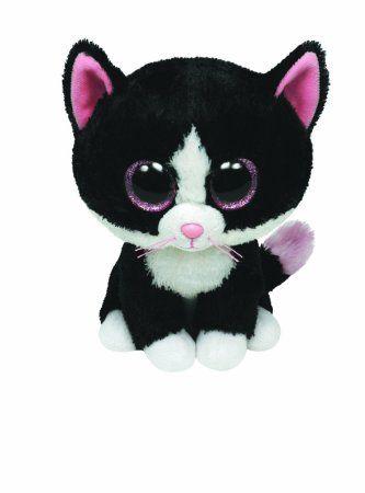 d6b2ed15503 Amazon.com  Ty Beanie Boos - Pepper the Cat  Toys   Games