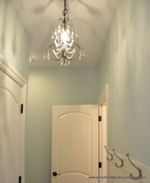 My absolute favorite paint color! Sea Salt by Sherwin Williams ❤ So ...