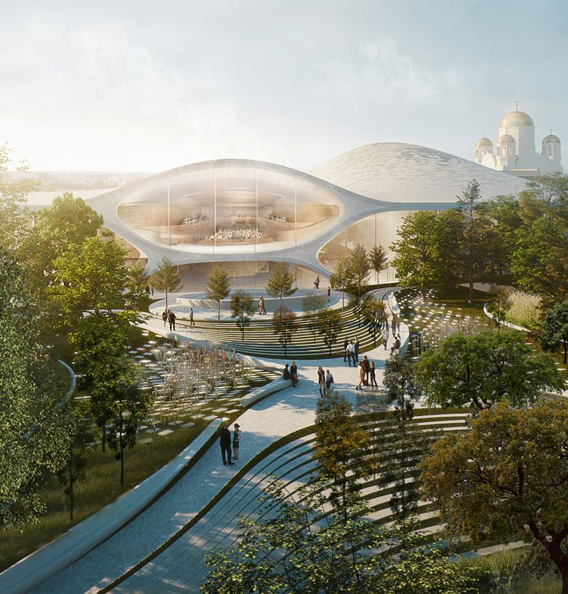 Zaha Hadid Architects Wins Competition To Build Soundwave