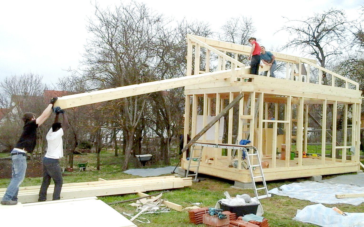 Own home ein bausatz f r das autarke heim tiny haus Mini haus bauen