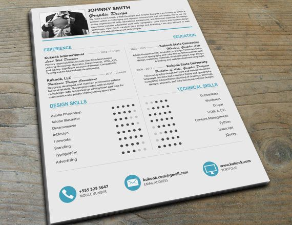 Beautiful Modern Resume Template  Stand Out From The Crowd