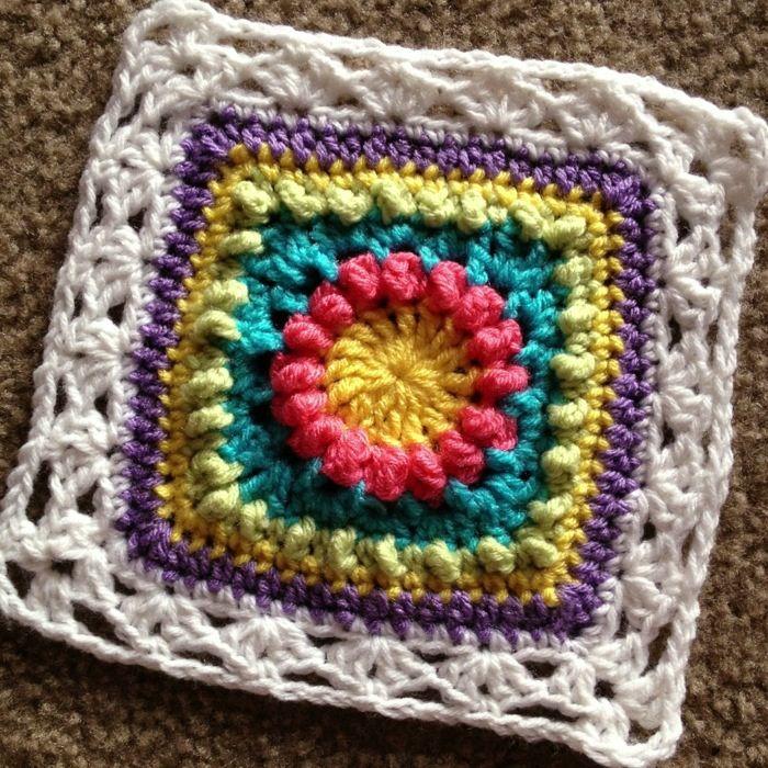 Mini Circle of Friends | Muestras de crochet | Pinterest
