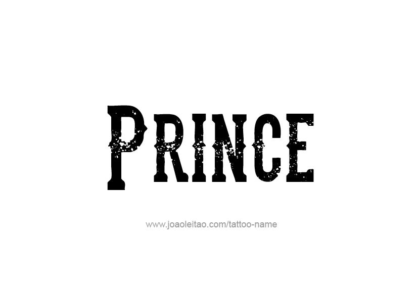 Prince Name Tattoo Designs Name Tattoo Designs Prince Tattoos Name Tattoos