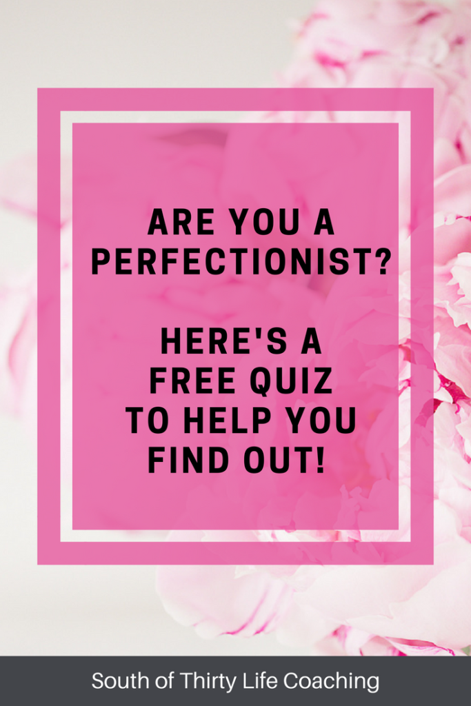 Are you perfectionist