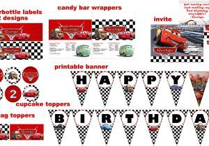 Free Printables Anniversary Pics Disney Cars Birthday Parties Party Invitations Invitation