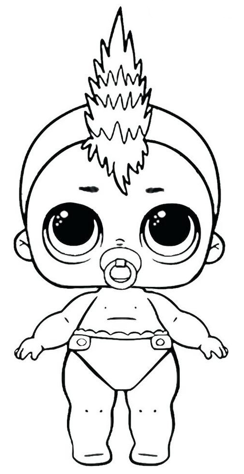 Lol Doll Coloring Pages Boy | Coloring Page Blog