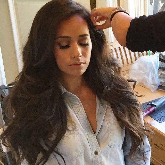 Major hair moment with @leilaniwolfgramm #makeupandhair #weworkin #shessofrikenbomb