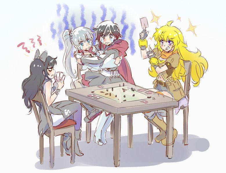 RWBY Children's card game