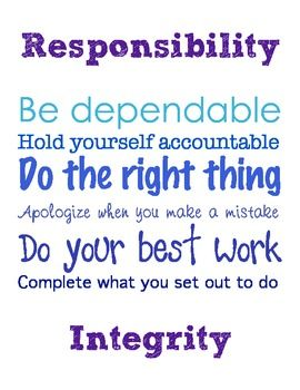 Sometimes When We Teach Rules And Expectations We Forget That Our Students Don T Responsibility Quotes No Response Classroom Quotes
