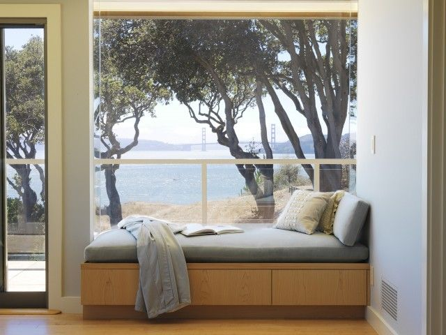 Window seat Rincón de lectura / Leseecke / Reading nook Pinterest