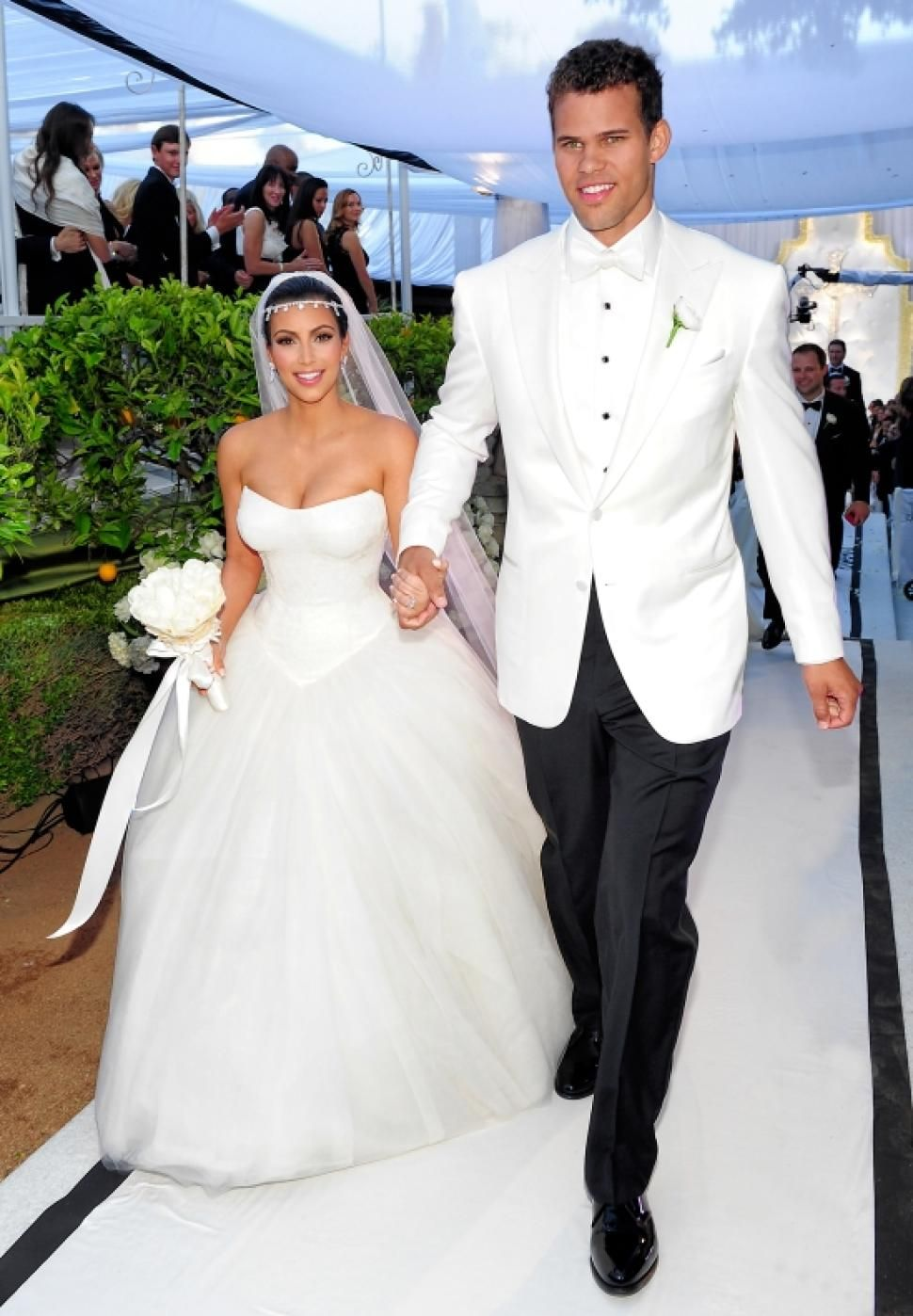 Kim Kardashian Wedding Photos Kim Kardashian Wedding Dress Photo Kim Kardashian Wedding Kardashian Wedding Mermaid Bridesmaid Dresses