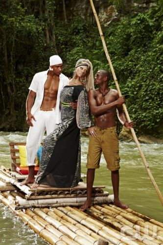 America S Next Top Model The Girls Go To Jamaica Pictured