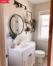 Photo of Before and After: A Total Bathroom Redo with a Vintage Spin # designinterio …, …
